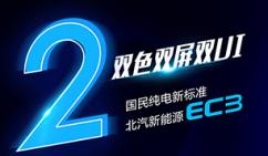 国民纯电新标准 | 双色双屏双UI的EC3,2天后见!